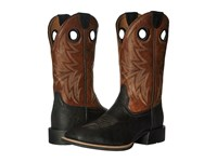 Ariat Heritage Cowhorse Moonless Night Wood Cowboy Boots Brown