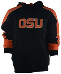Colosseum Men's Oregon State Beavers Thriller Hoodie Black Orange