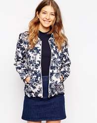 Soaked In Luxury Garijack Floral Print Boxy Jacket 914Pattern