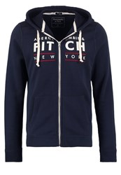 Abercrombie And Fitch Muscle Fit Tracksuit Top Navy Dark Blue