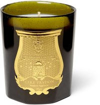 Cire Trudon Ernesto Tobacco And Leather Scented Candle 270G Green