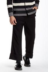 General Idea Cuffed Crop Pant Black