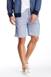 Save Khaki Houndstooth Bermuda Short Metallic