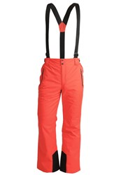 Killtec Human Waterproof Trousers Dunkelorange Red