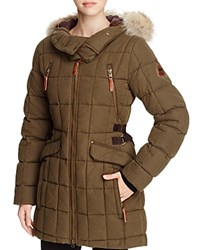 Sorel Conquest Carly Parka Olive