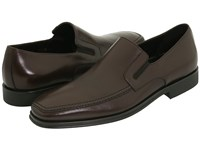 Bruno Magli Raging Dark Brown Nappa Men's Slip On Dress Shoes Black