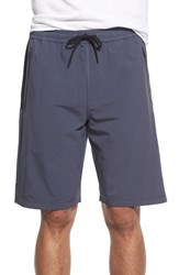 Men's Bpm Fueled By Zella 'Graphite' Moisture Wicking Woven Athletic Shorts Grey Graphite