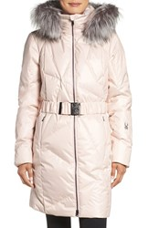 Spyder Women's Pave Waterproof Down Parka With Genuine Fox Fur Trim Coy