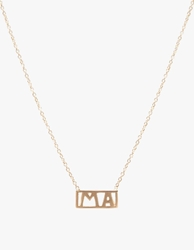 Winden Ma Necklace Yellow Gold