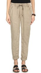 Three Dots Linen Rolled Pants