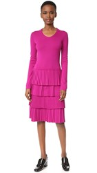 Salvatore Ferragamo Knit Dress Violet