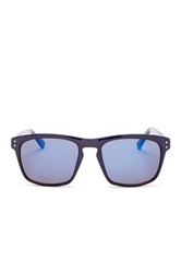 Cole Haan Men's Modified Wayfarer Sunglasses Black