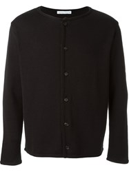 Societe Anonyme Buttoned Cardigan Black