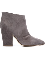 Sergio Rossi Ankle Boots Grey