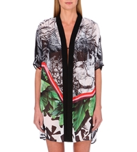 Clover Canyon Natures Divide Chiffon Cover Up Multi