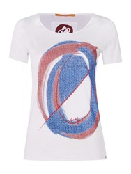 Hugo Boss Short Sleeve Print Tee White