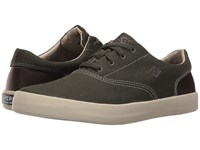Sperry Wahoo Cvo Herringbone Olive Men's Lace Up Casual Shoes