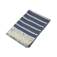 Etro Ogilvie Fringed Throw 200 Blue