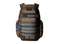 Burton Kilo Pack Beach Stripe Print Backpack Bags Brown