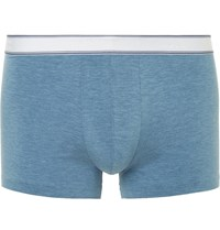 Derek Rose Ethan Stretch Micro Modal Boxer Briefs Blue