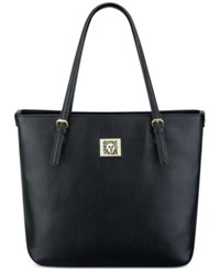 Anne Klein Large Perfect Tote Black Pebble