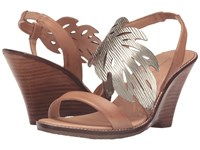 Tommy Bahama Plumeria Wedge Light Gold Natural Women's Wedge Shoes