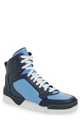 Men's Givenchy 'Tyson' High Top Sneaker Navy Blue Leather