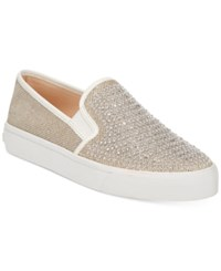 Inc International Concepts Sammee Slip On Sneakers Only At Macy's Women's Shoes Champagne