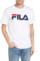 Fila Men's Usa Graphic T Shirt White