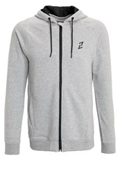 Your Turn Active Tracksuit Top Mottled Grey