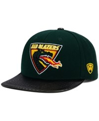 Top Of The World Uab Blazers Carbonite Snapback Cap Green Black
