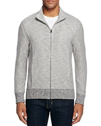 Billy Reid Heathered Track Jacket Grey