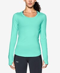 Under Armour Fly By Long Sleeve Running Top Crystal