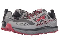 Altra Footwear Lone Peak 3 Neoshell Gray Red Men's Shoes