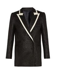 Blaze Milano Everyday Moonfleet Metallic Tweed Blazer Black