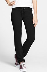 Wildfox Couture Women's Wildfox 'Basics Malibu' Skinny Jogging Pants Jet Black