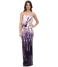 Young Fabulous And Broke Chandra Maxi Purple Rain Ombre Women's Dress