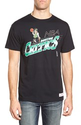 Mitchell Ness 'Boston Celtics Last Second Shot' Graphic T Shirt Black