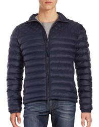 Strellson Quilted Puffer Jacket Navy