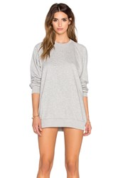 Rise Home Run Sweater Mini Dress Gray