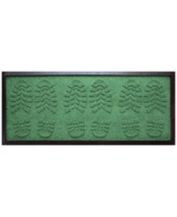 Bungalow Flooring Water Guard Lug Sole Boot Tray Light Green 15 X36 Boot Tray