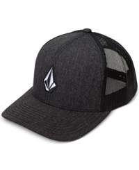 Volcom Men's Full Stone Cheese Hat Char Heath