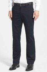 Men's Big And Tall Nordstrom Wrinkle Free Straight Leg Chinos Anthracite