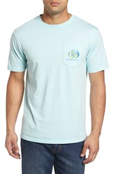 Southern Tide Men's Caribbean Fish Graphic T Shirt Pool