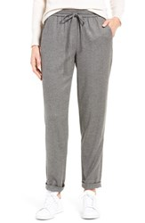 Nordstrom Women's Collection Greta Flannel Drawstring Pants