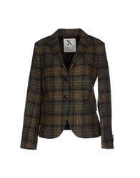 Gant Suits And Jackets Blazers Women Dark Green