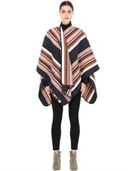 La Mericaine Powhatan Felted Wool Blend Cape