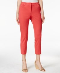 Charter Club Petite Straight Leg Cropped Pants Only At Macy's Dark Starfish