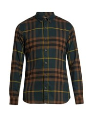 Burberry House Check Cotton Twill Shirt Multi