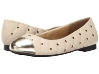 Annie Event Nude Women's Dress Flat Shoes Beige